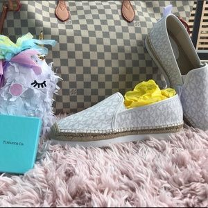 Size 10- Micheal Kors sneakers espadrilles